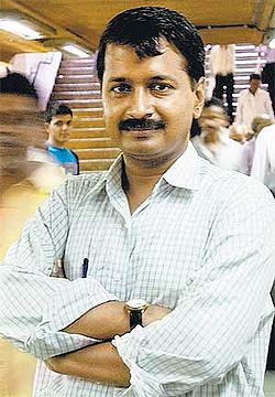 Arvind Kejriwal :- social activist and crusader for greater transparency in Government