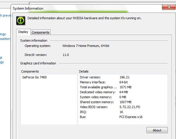 nvidia installed